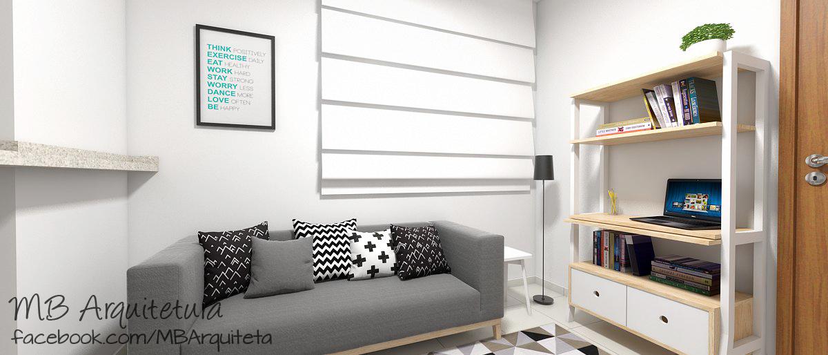 Sala de estar pequena 07b