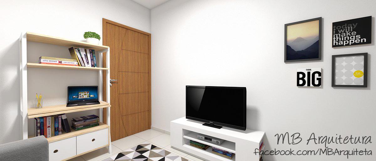 Sala de estar pequena 08b