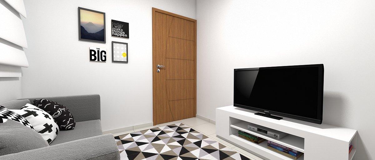Sala de estar pequena 10