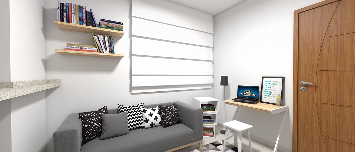 Sala de estar pequena 11