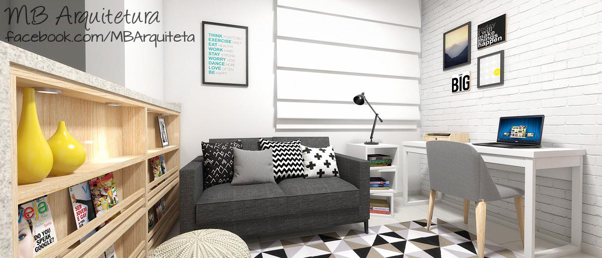 Sala de estar pequena 01b