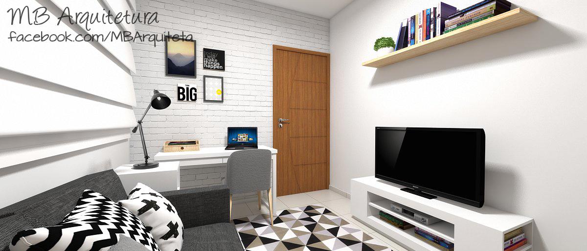 Sala de estar pequena 02b