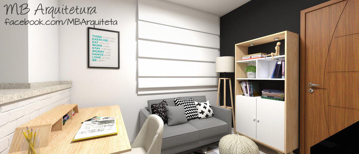 Sala de estar pequena 04b