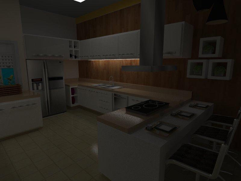 Cozinha do chefe boa