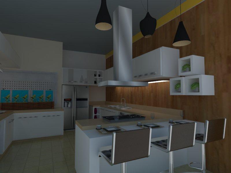 Cozinha do chefe otima