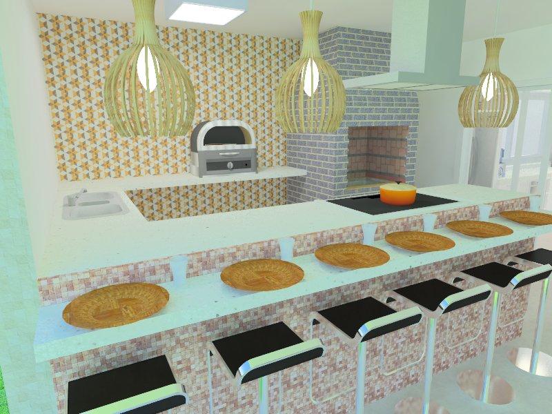 Casa e jardim   casa praia   vizzuale arquitetura  churrasqueira gourmet