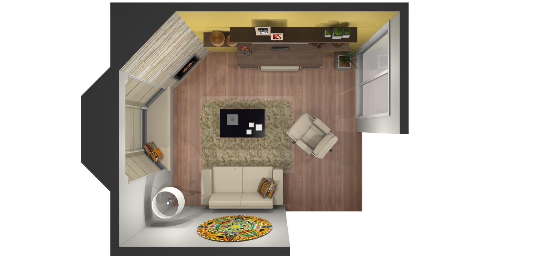 Pl baixa sala de estar