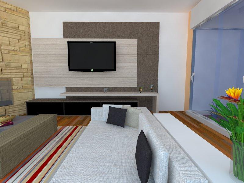 Minha sala nova