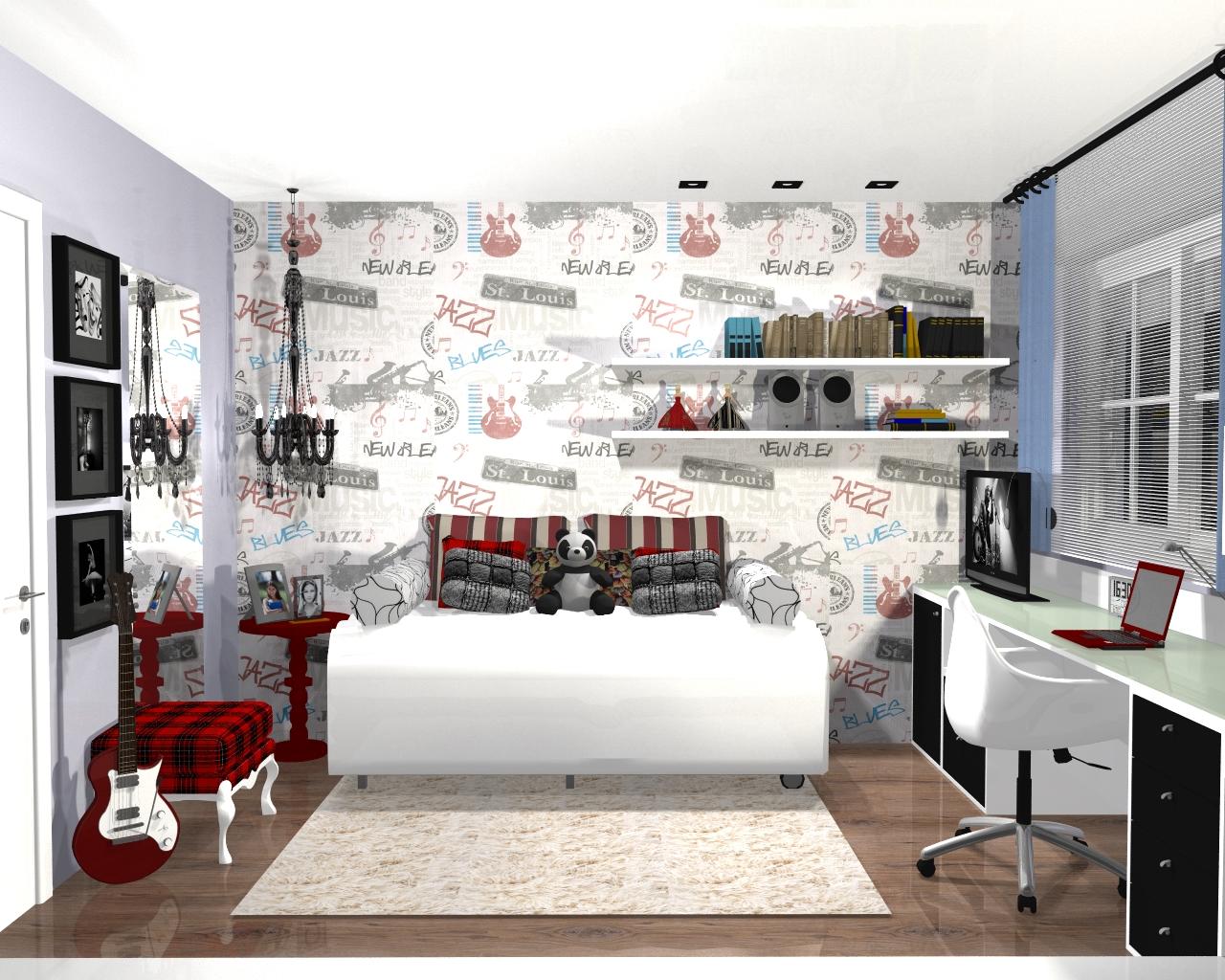 O projeto   dormitorio 18 anos2