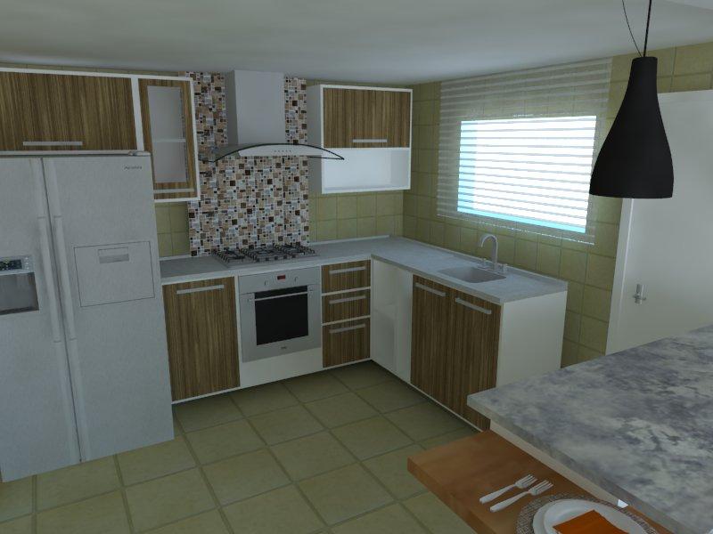 Sala e cozinha seu projeto 02