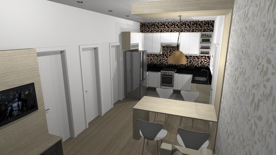 Vista cozinha 2