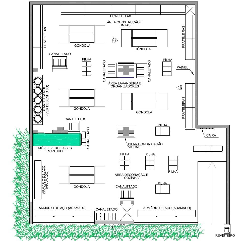 Proposta layout