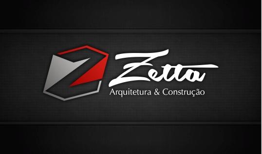 Logo zetta preto