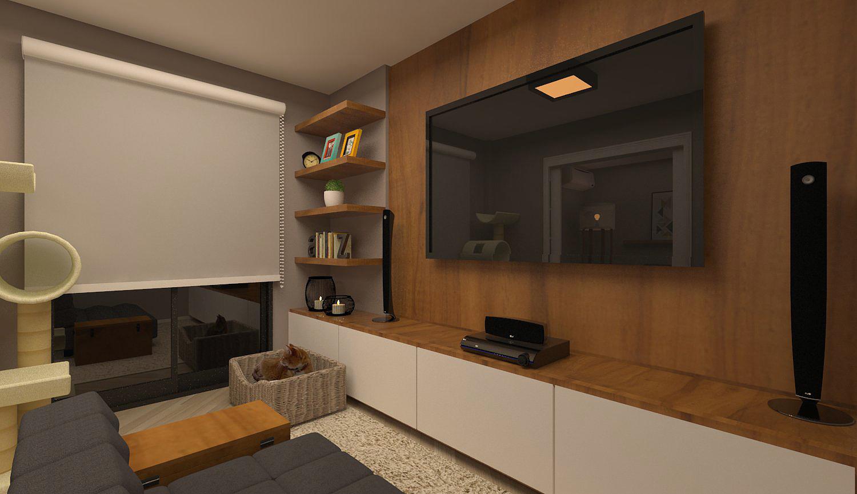 O Seu Projeto -> Sala De Tv E Som